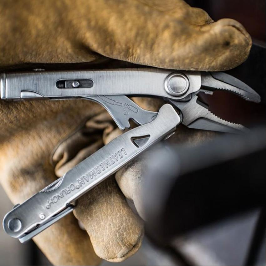 Набор мультитул LEATHERMAN CRUNCH 68010181N + REMOVABLE BIT DRIVER