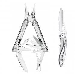 Набор мультитул LEATHERMAN FREE P2 832638 + нож SKELETOOL KBX