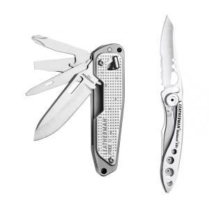 Набор мультитул LEATHERMAN FREE T2 832682 + нож SKELETOOL KBX