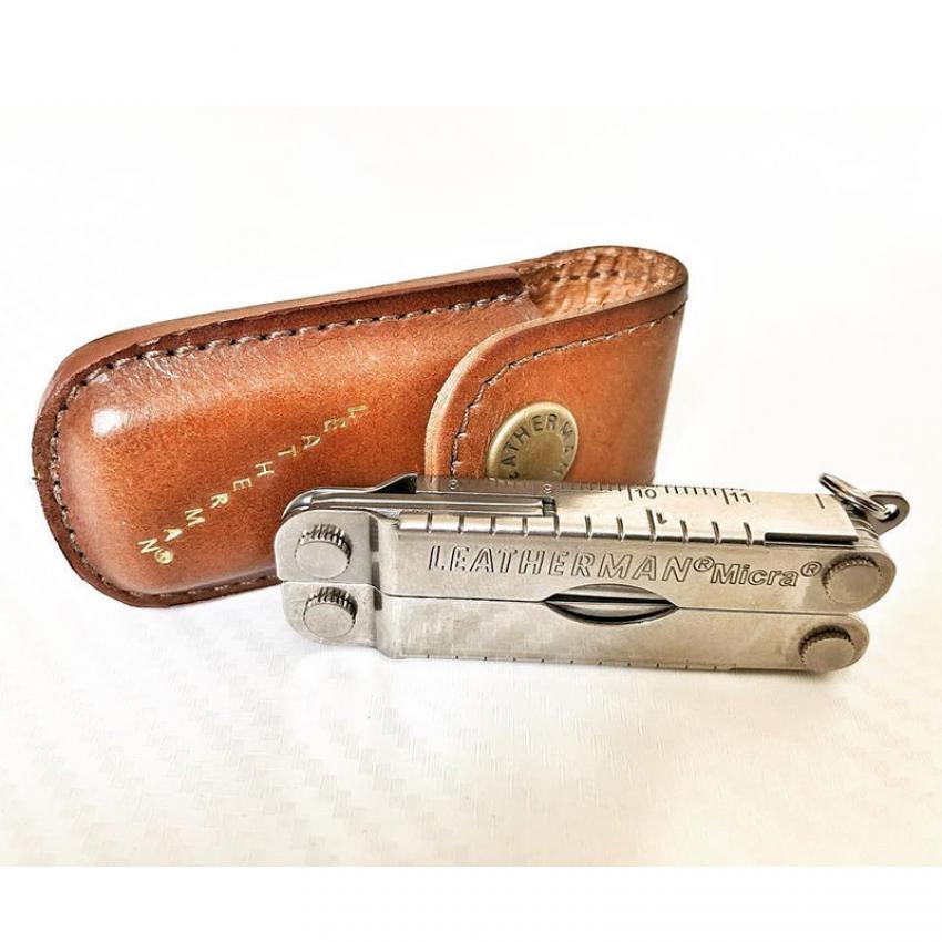 Набор мультитул LEATHERMAN MICRA 832549 + нож SKELETOOL KBX