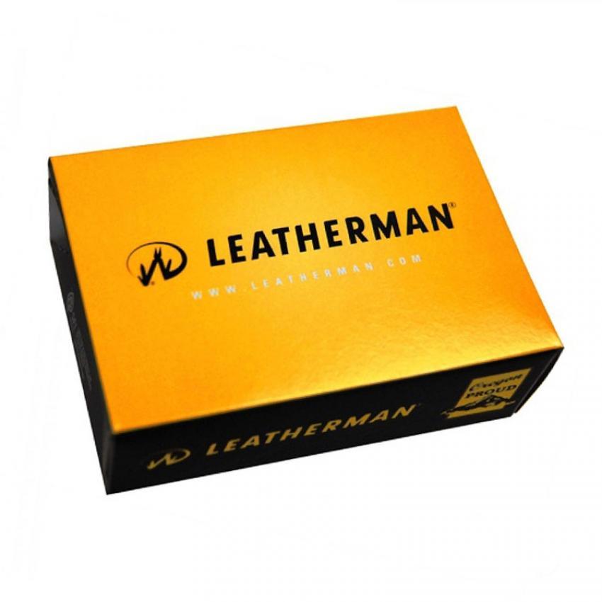 Мультитул LEATHERMAN WAVE PLUS 832551 с кожаным чехлом