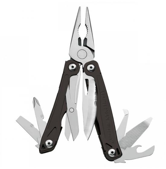 Мультитул LEATHERMAN WINGMAN BLACK & SILVER 832466
