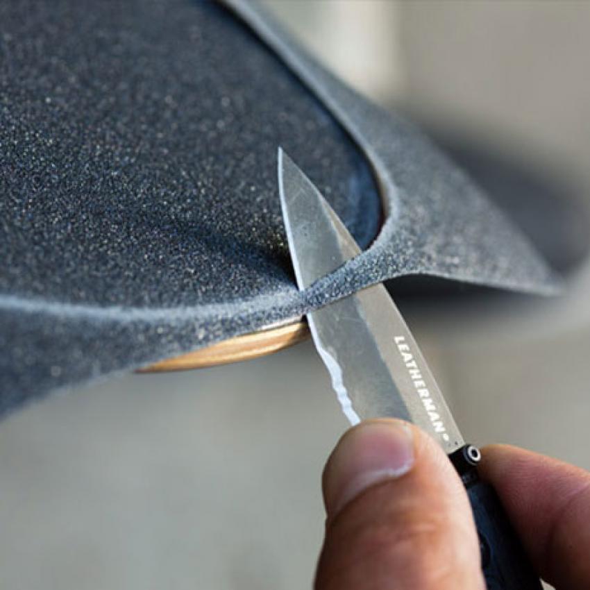 Нож LEATHERMAN CRATER MILITARY C33LX BLACK 8601251N