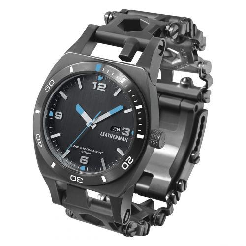 Часы - мультитул LEATHERMAN TREAD (THREAD) TEMPO BLACK 832420