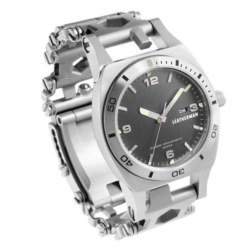 Часы - мультитул LEATHERMAN TREAD (THREAD) TEMPO STEEL 832421
